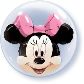Minnie Mouse Bubble Balloon, 22?? | 1 ct