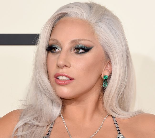 Lady Gaga at the Grammys 2015