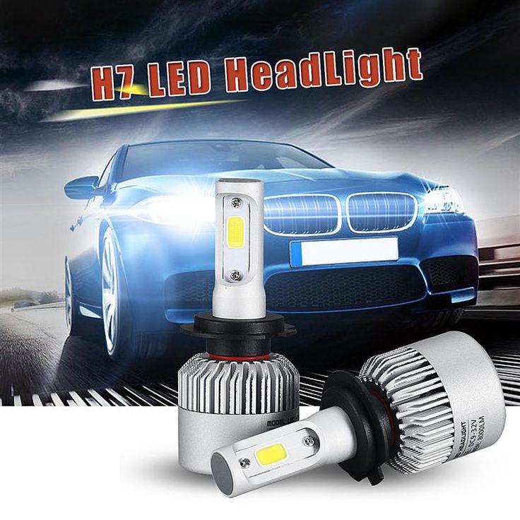 $29.41 (Buy here: https://alitems.com/g/1e8d114494ebda23ff8b16525dc3e8/?i=5&ulp=https%3A%2F%2Fwww.aliexpress.com%2Fitem%2F2x-Car-H7-LED-Headlight-Bulb-Fog-Light-72W-External-Light-Bridgelux-COB-8000lm-Work-Light%2F32697321802.html ) 2x Car H7 LED Headlight Bulb Fog Light 72W External Light For Bridgelux COB Chip 8000lm Work Light  Kit  Signal Beam For Jeep for just $29.41