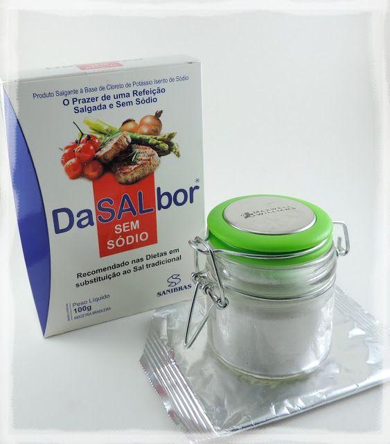 Blog Bela Domus : Testado e aprovado! DaSALbor® (Sal sem Sódio) Sanibras 100g