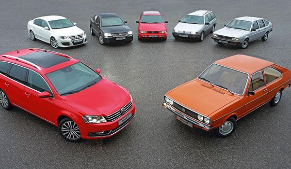VW Passat 40 years seven generations