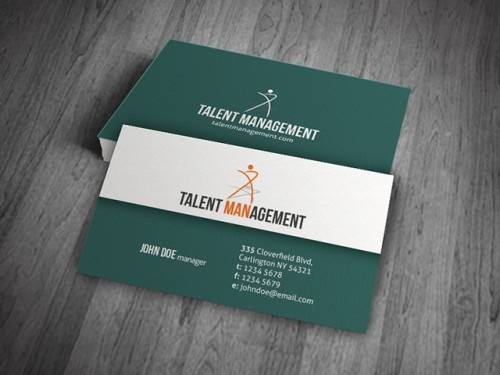 Best Free Business Card Templates Images On Pinterest Free - Free business card designs templates