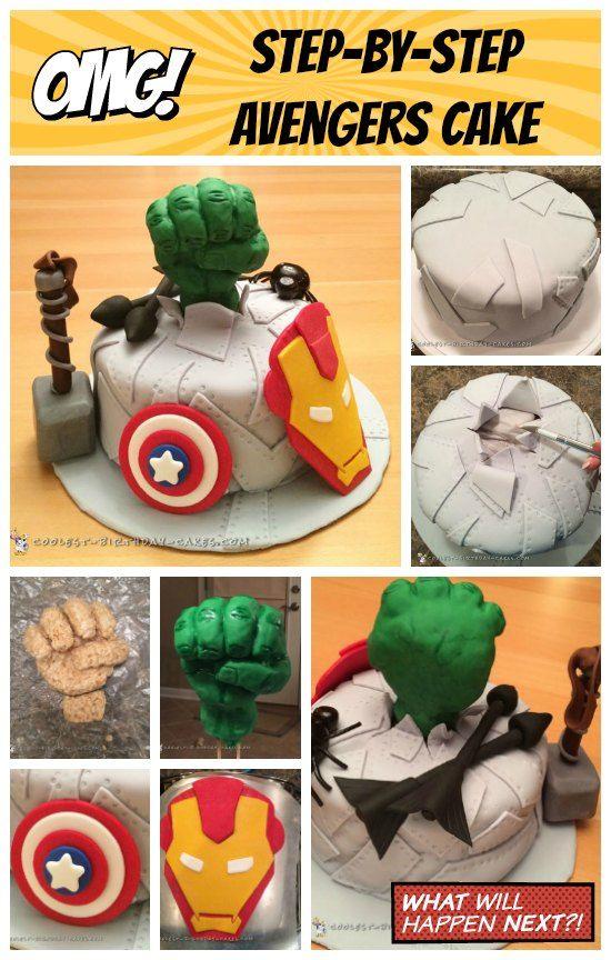 Wenn Sie wie ich einen Kuchen für einen Superhelden-Fan backen müssen, ist das nur natürlich …   – Cakes