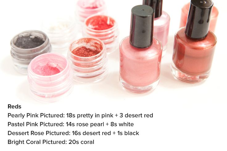 How to Make Your Own Nail Polish Color - Darby Smart
