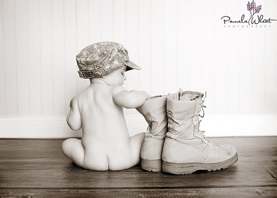 military babies - Click image to find more Photography Pinterest pins