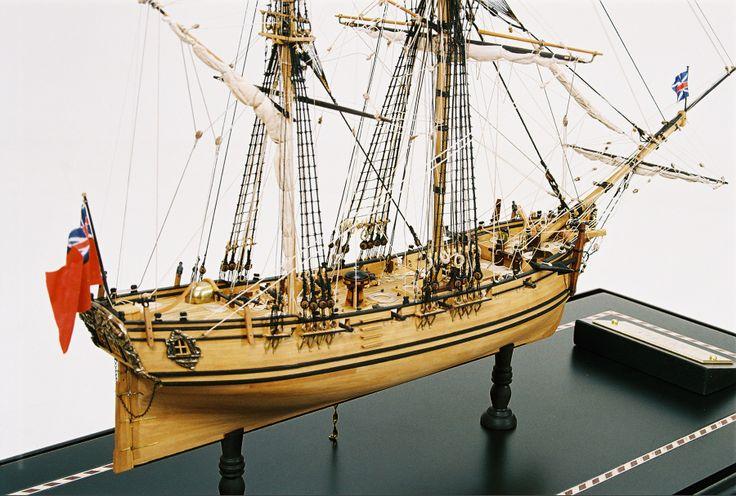 "Ship model ""HMS Fly"" 1752 From"