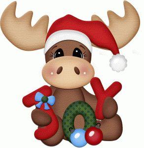 Silhouette Online Store - View Design #50962: christmas joy moose