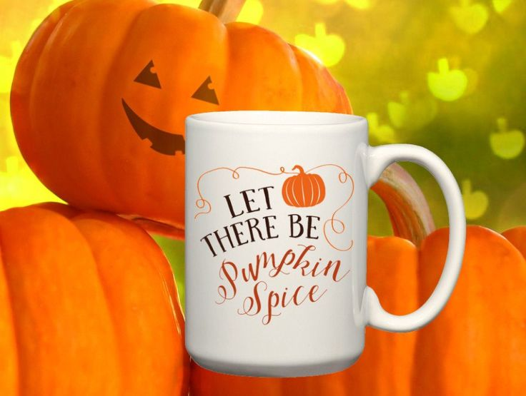 Pumpkin Spice Gift Coffee Mug