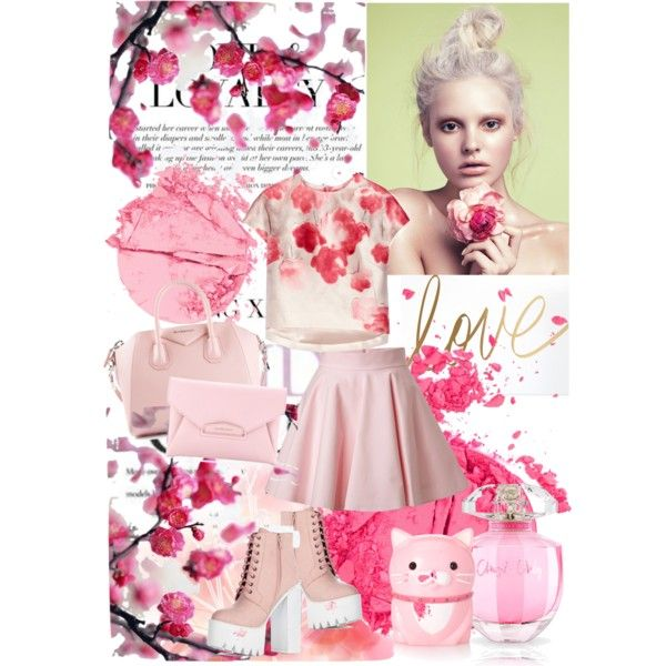 """""""Cotton Candy"""" by michellezee on Polyvore"""