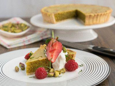 pistachio tart simon rimmer