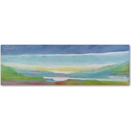 Trademark Fine Art Just Above Sea Level Canvas Art by Lou Gibbs, Multicolor