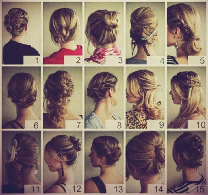 cute hairstyles for long hair!!! aka ME!!! LOL