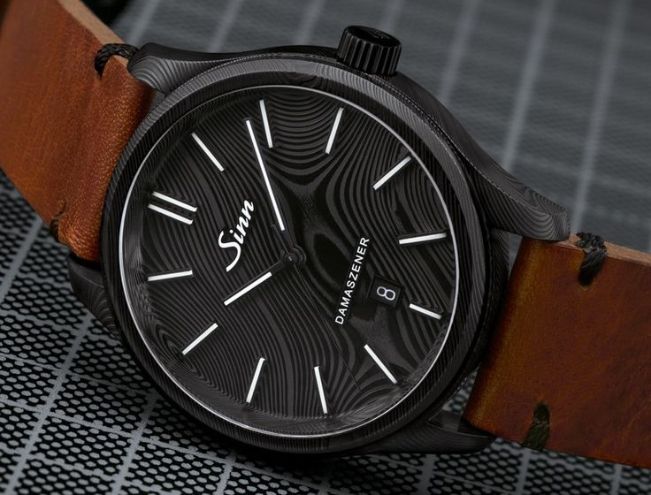 Sinn has announced the 100-piece limited edition Sinn Model 1800 S Damaszener watch - check here for images, specs, and price.