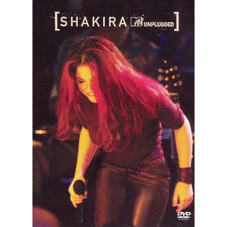 Shakira mtv unplugged (Dvd)