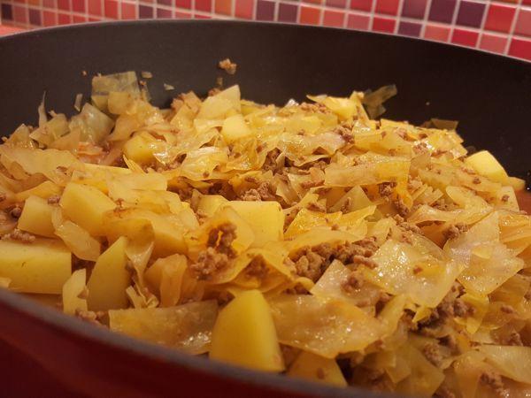 Rezept Weißkohleintopf mit Hackfleisch und Kartoffeln