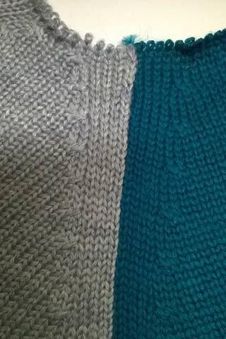 Сборка реглана с фасонными убавками - ручной и машинный способы
