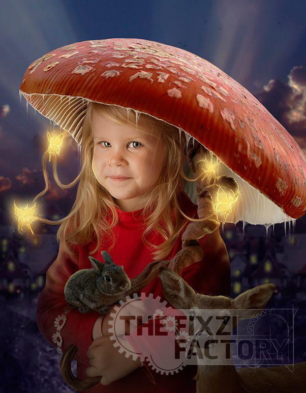 Mushroom umbrella by MadameThenadier.deviantart.com on @deviantART