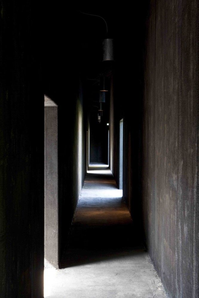 Serpentine Gallery Pavilion hallway