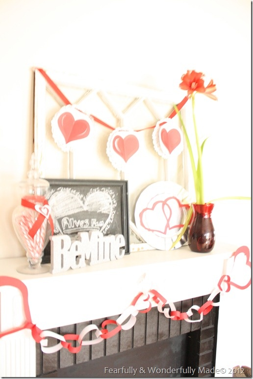 1000 images about valentines day home decor on pinterest for Heart decorations home