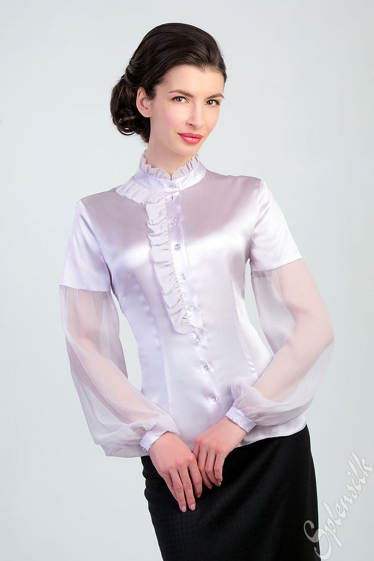 Satijn Blouse 42