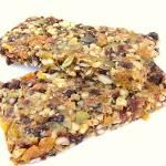 Fruit Seed & Nut Power Bars (no added sugar)
