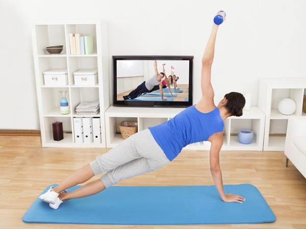 Not feeling the gym this winter? Try working out at home