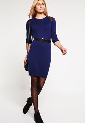 Gebreide jurken Zalando Essentials Gebreide jurk - dark blue Donkerblauw: 29,95…