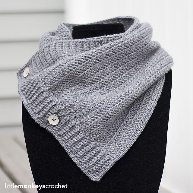 Mejores 357 imágenes de Crochet - Cowls, Scarves & Shawls en ...