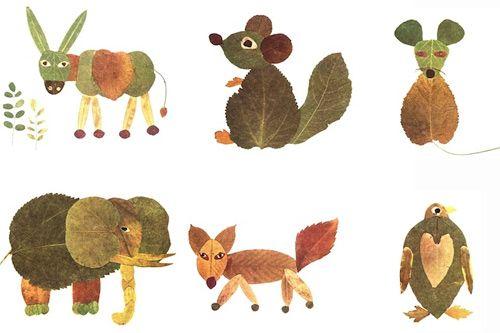 prace plastyczne z liści - Szukaj w Google