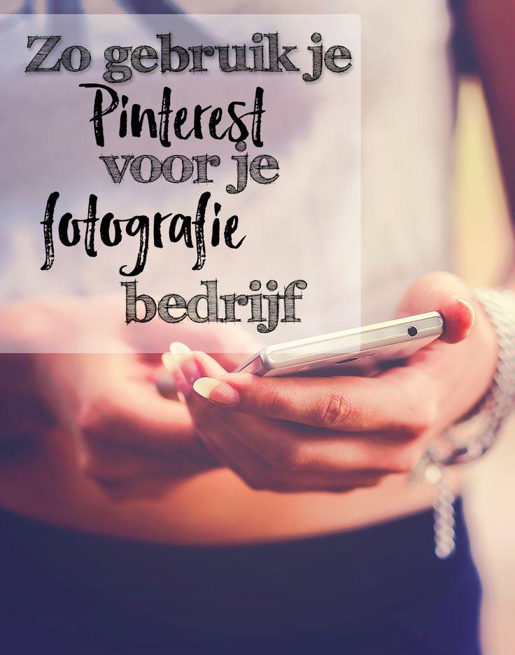 Zo gebruik je Pinterest voor je fotografie bedrijf
