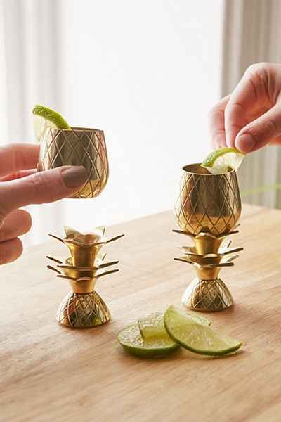 The Pineapple Co. Pineapple Shot Glasses Set - Urban Outfitters