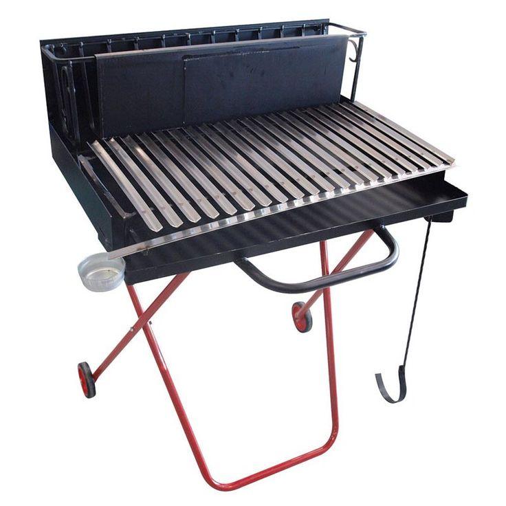 #BARBECUE #LEGNA #PEGORARO #100. Barbecue a legna Pegoraro, in acciaio, compreso di carrello, brucialegna, paraschizzi, spostabrace, e griglia di grandi dimensioni. Il carrello è ripiegabile su sè stesso per facilitarne il trasporto. Adatto per cottura a legna, carbonella o carbone.