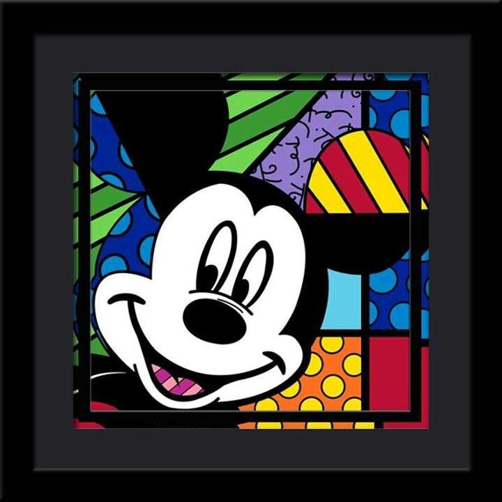 Aquí estoy... Mickey Mouse
