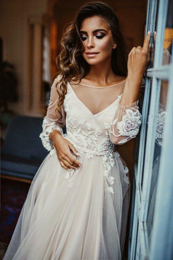 Amazon Wedding Dresses For Sale Short Lace Wedding Dress Long Sleeve Bohemian Wedding Dress Lace Beach Wedding Dress