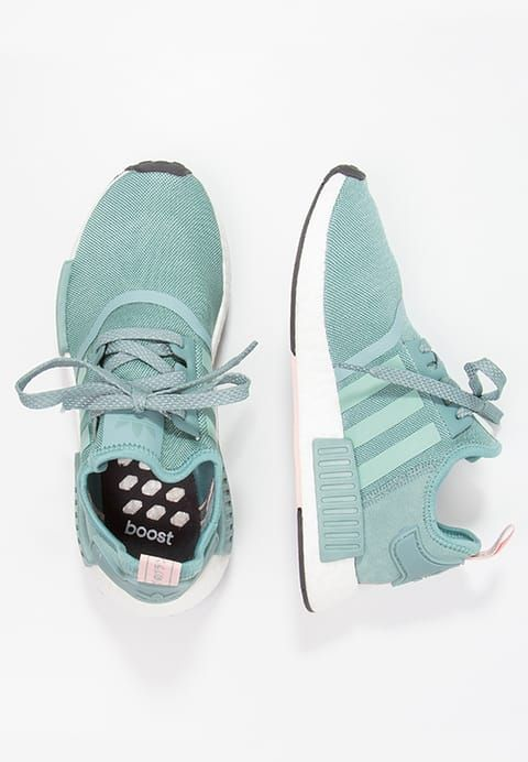 NEW Adidas NMD R1 Women's Prime Knit PK Black/Salmon