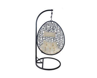 Mooie design hangstoel geschikt voor jong en oud!Deze moderne zwarte hangstoel heefteen echte ei vorm.U kan de kussens normaal in de stoel plaatsen of juist helemaal aan de zijkan...