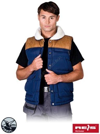 BEZRĘKAWNIK OCIEPLANY BUFFALO - INTERNETOWY SKLEP BHP - artykuły i sprzęt bhp, odzież robocza, środki ochrony indywidualnej