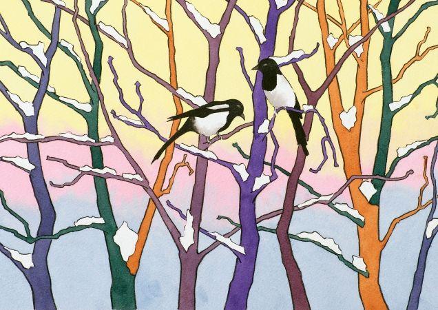 Vinter - av Arne Berg