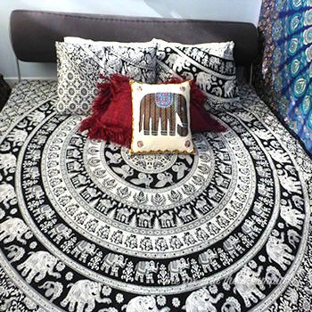 Elephant and Camel Tapestry Duvet Cover & Pillowcases