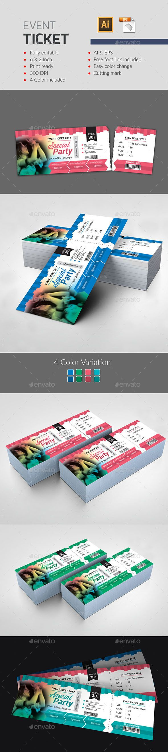 1000 ideas about ticket template on pinterest concert ticket template ticket template free. Black Bedroom Furniture Sets. Home Design Ideas
