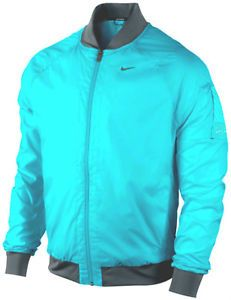 Have one to sell? Sell it yourself NIKE SPHERE BOMBER MEN'S RUNNING JACKET WAS $90 AQUA