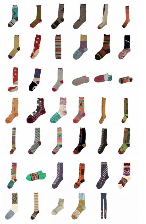 socks. socks. socks.: Color Socks, Collection Socks, Illustrations Socks, Kapit Socks, Wool Socks, Socks Illustrations, Socks Patterns, Art Socks, Lost Socks