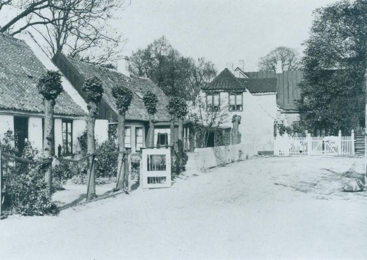 Kraingade 11-15 i 1933. 'Fra det  nu forsvundne Sundby'.