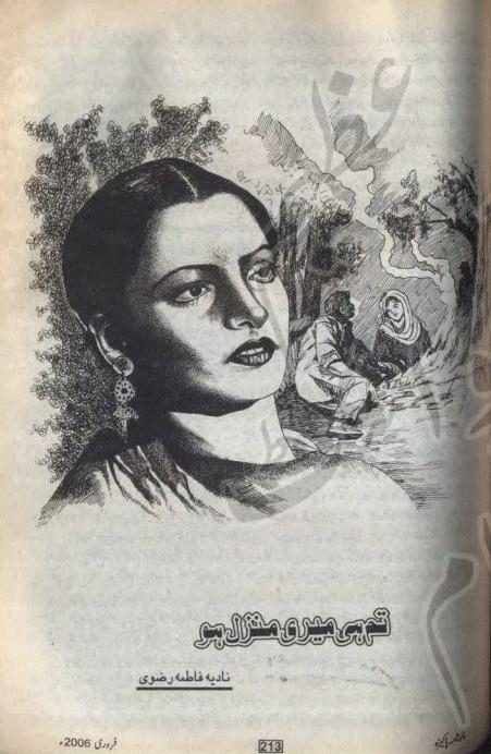 FAMOUS URDU NOVELS: Tum hi meri manzil ho by Nadia Fatima Rizvi pdf.