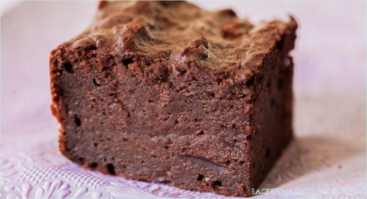 Backen macht glücklich   Superschokoladige feuchte Brownies mit Roter Bete   http://www.backenmachtgluecklich.de