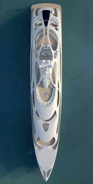 #Superyacht. @BlohmandVoss concept designed by @ZahaHadid - AJ MacDonald - Yacht Broker - aj.macdonald@alliedmarine.com