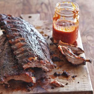 Grilled Baby Back Ribs with Citrus Barbecue Sauce | Williams-Sonoma