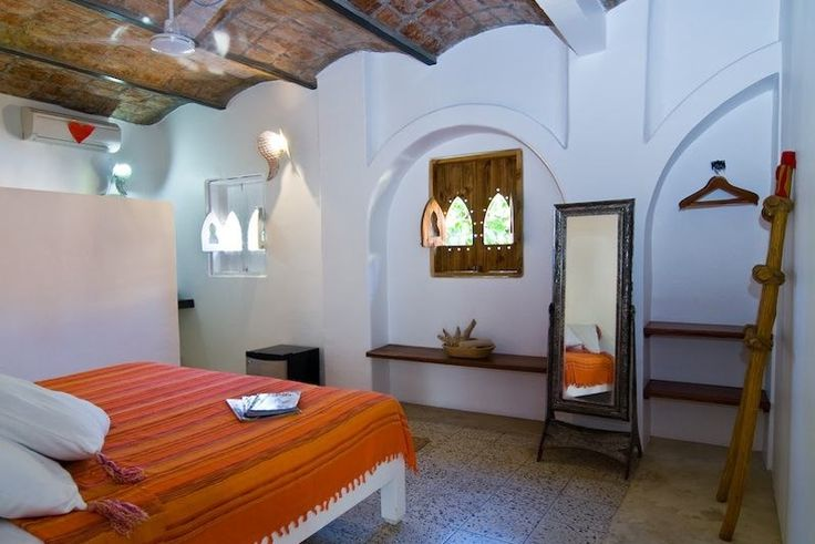 Petit Hotel Hafa in Sayulita, a small boutique hotel that mixes Moroccan and Mexican decor.