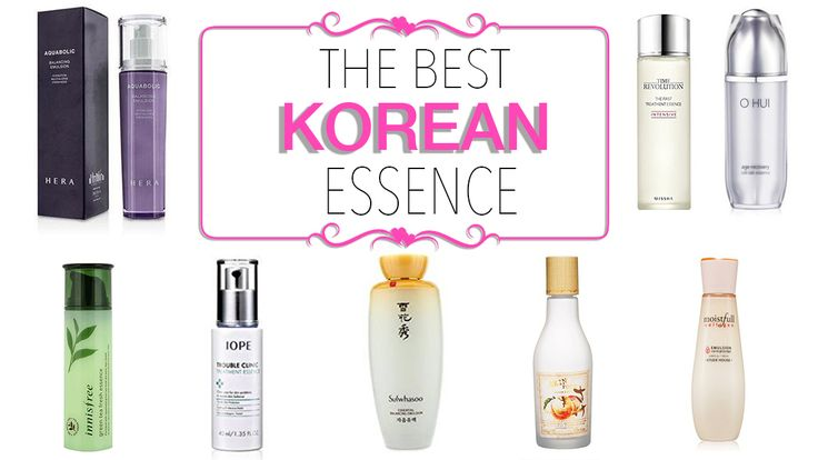 The Best Korean Essence - Nylon Pink Official Website-WHY IS ESSENCE SO IMPORTANT FOR YOUR BEAUTY REGIME?Essence is such an important part of your skin care routine because …