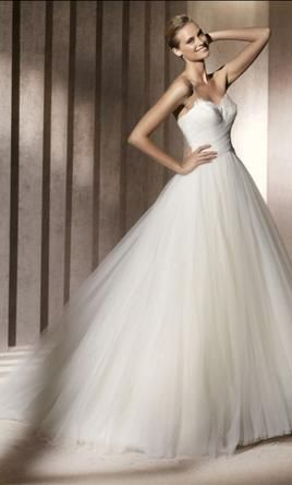 Manuel Mota Pronovias: buy this dress for a fraction of the salon price on PreOwnedWeddingDresses.com